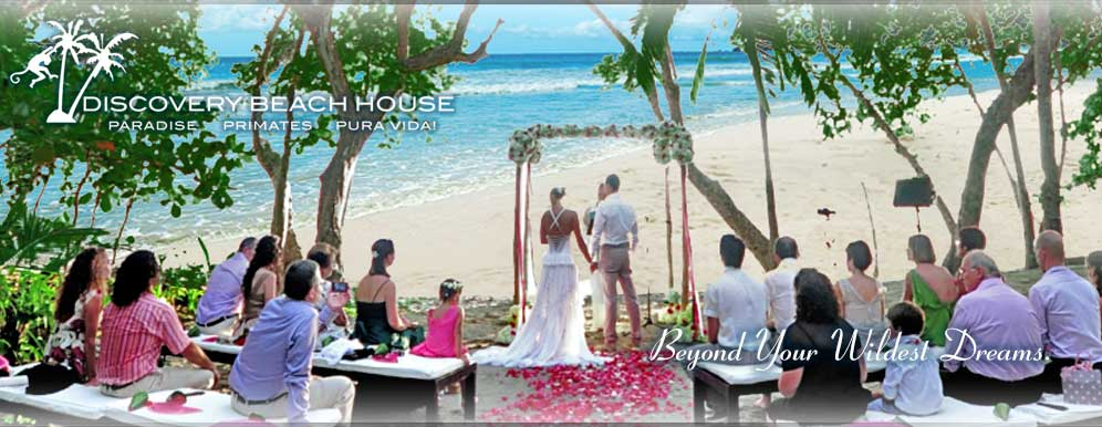 wedding couple Manuel Antonio Costa Rica