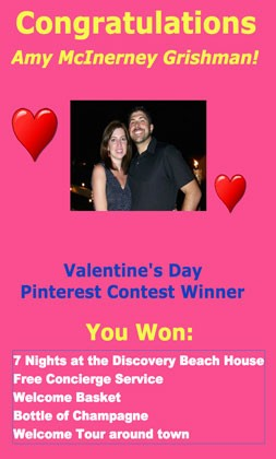 Pinterest contest winner